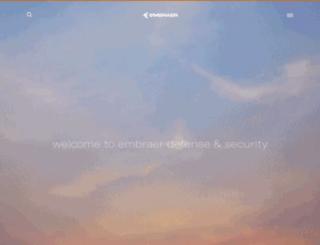 embraerds.com screenshot