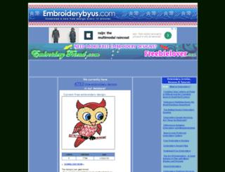 embroiderybyus.com screenshot