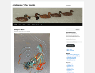 embroideryforducks.com screenshot