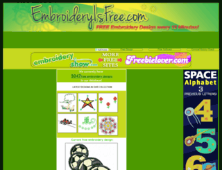 embroideryisfree.com screenshot