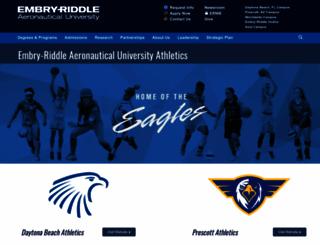 embryriddlesports.com screenshot