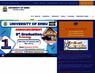 embuni.ac.ke screenshot