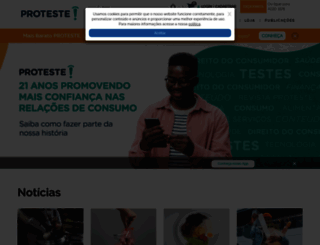 embuscado3gperdido.proteste.org.br screenshot