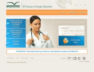 emc-healthcare.ie screenshot