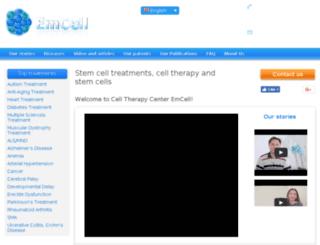 emcell.com screenshot