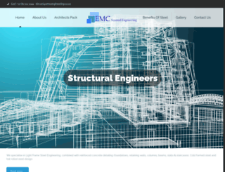 emcengineering.co.za screenshot