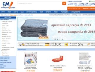 emcompre.com.br screenshot