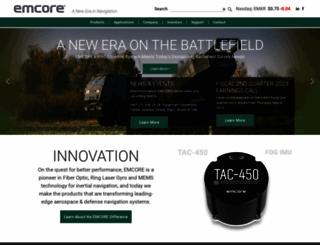 emcore.com screenshot