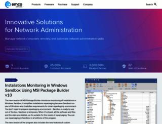 emcosoftware.com screenshot