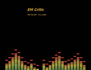 emcritic.com screenshot