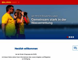 emden.dlrg.de screenshot