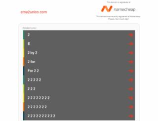 eme2unico.com screenshot
