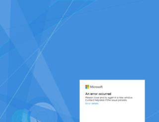 emea.064d.cloudmail.microsoft.com screenshot