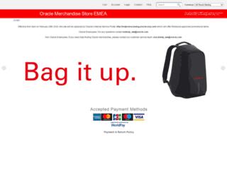 emea.oraclemerchandise.com screenshot