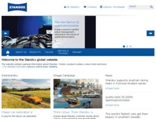 emea.standox.com screenshot