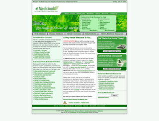 emedicinal.com screenshot
