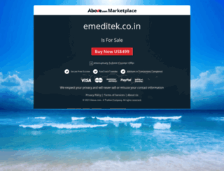 emeditek.co.in screenshot