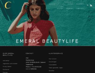 emeralbeautylife.nl screenshot