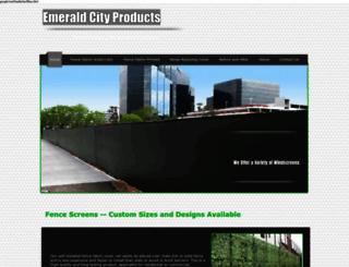 emeraldcityproducts.com screenshot