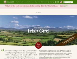 emeraldheritage.com screenshot