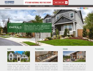 emeraldhomes.com screenshot