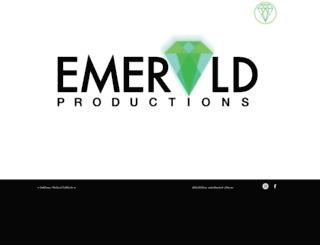 emeraldproductions.com.au screenshot