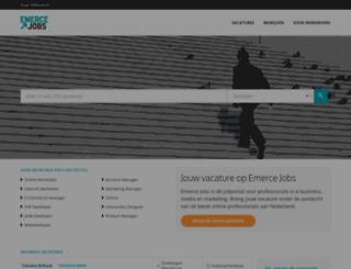emercejobs.nl screenshot