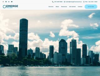 emergefinance.com.au screenshot