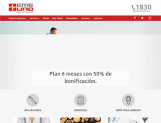 emergenciauno.com screenshot