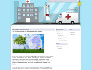 emergency-bmt.blogspot.com screenshot