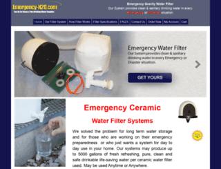 emergency-h2o.com screenshot