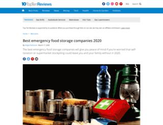 emergency-preparedness-stores-review.toptenreviews.com screenshot