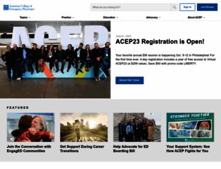 emergencycareforyou.org screenshot