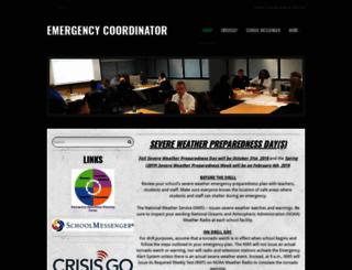 emergencycoordinator.com screenshot