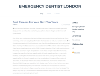 emergencydentistlondon247.weebly.com screenshot