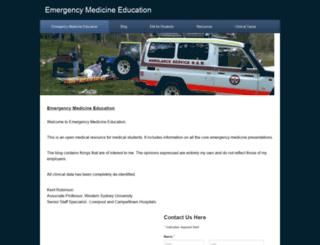 emergencyeducation.net screenshot