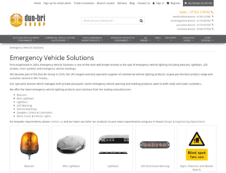 emergencyequipmentshop.co.uk screenshot
