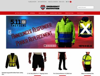 emergencyoutfitter.net screenshot