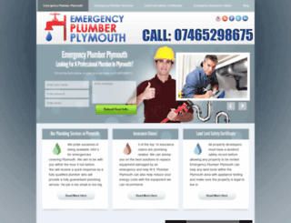 emergencyplumber-plymouth.co.uk screenshot