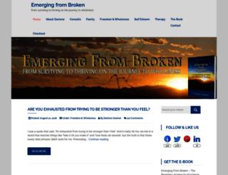 emergingfrombroken.com screenshot