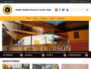 emerson.djusd.net screenshot