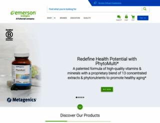 emersonecologics.com screenshot