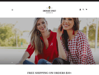 emersonstreetclothing.com screenshot