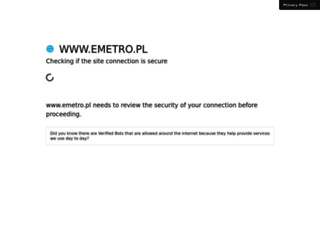 emetro.pl screenshot