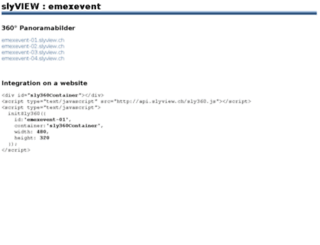 emexevent.slyview.ch screenshot