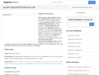 emf-cancer.microalpha.com.pandastats.net screenshot
