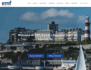 emfgroup.com screenshot