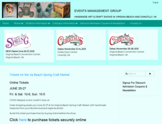emgshows.com screenshot
