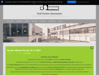 emil-fischer-gymnasium.euskirchen.de screenshot