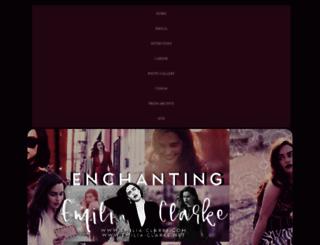 emilia-clarke.com screenshot